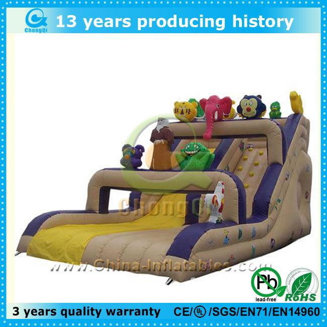 hot sale inflatable cartoon slide,cartoon inflatable slide