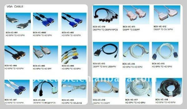 vga rca cable