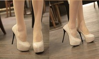 Туфли на высоком каблуке Fashion Dress Shoes High Heel Party Pumps High Quality Platform Shoes Black And Golden And Retail