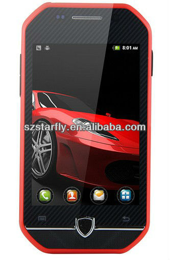 SportsCar!!! F599 3.5'' capacitive screen Cheap China Smartphone with Dual camera