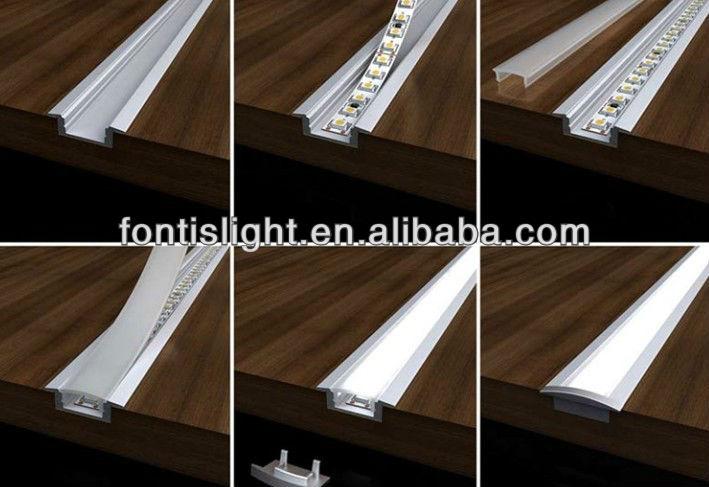 Perfiles de aluminio led/perfiles para la tira llevada light ...