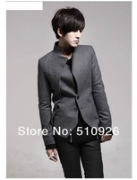 Мужской пиджак 2012 Men's Fashion Suit, Leisure Jacket & Hot Sales, Formal Suit, High Quality Tuxedo Black Gray