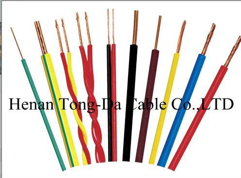 Медные провода с изоляцией, бронированный стальной проволоки кабель питания