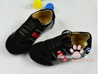 Мужская обувь Big children's boy's patent leather frosted kraft splicing system with single leisure shoes