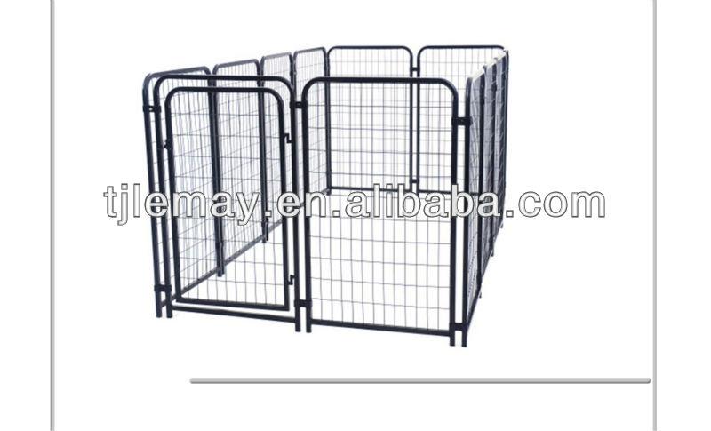 Heavy duty welded panels portable dog run kennels