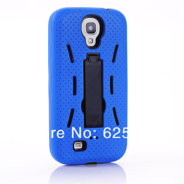 [SS-89] Hybrid Silicone PC Heavy Duty Kickstand Kick Stand Case Housing for Samsung Galaxy S4 SIV S IV I9500 (6).jpg