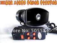 DC12V 5 тон автомобиле электронные предупреждения сирена полиции пожарные машины скорой помощи громкоговорителя с микрофоном