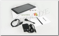 Планшетный ПК Powerful Seller! 9 inch Capacitive Allwinner A13 Android Tablets 512MB 8GB 800*480 1pcs/lot