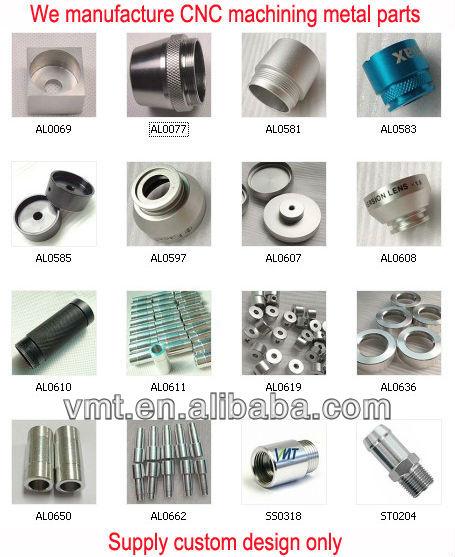 CNC machining custom precision metal shaft seal