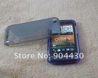 Чехол для для мобильных телефонов ONE V case, ship 20pcs For HTC ONEV TPU Soft back case