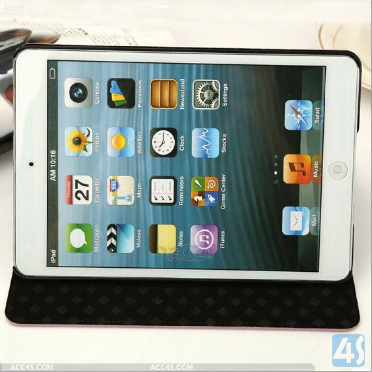 Polka Dot Folio PU Leather Case Cover for iPad Mini 2 Case P-IPDMINIiiCASE030