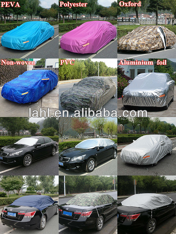 Factory Super UV proof easy folding car covers