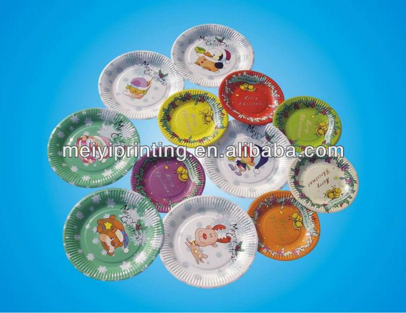 Wholesale Food Grade White Paper Plates