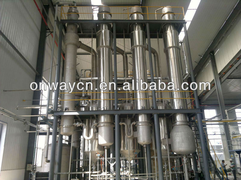 SHJO high efficient falling film evaporator equipment