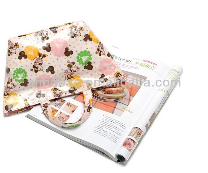 foldable PP non-woven shopping bag