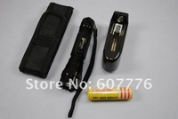 Ultrafire 501B Flashlight + Battery Charger + Battery + Holster