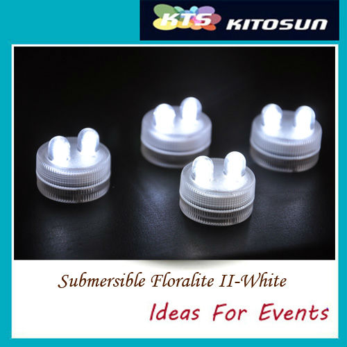 Submersible Floralite II-White