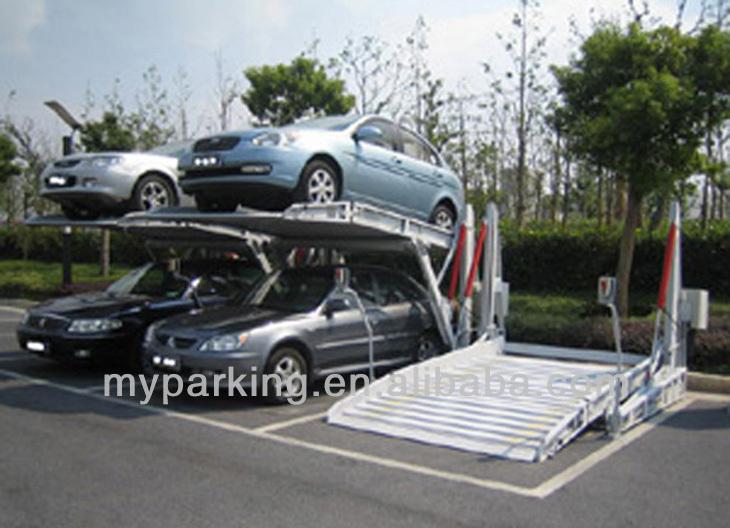 Mini Tilting Parking Posts Vertical Lifting Parking System