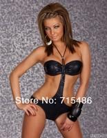 Женское эротическое боди g Sexy Teddy Leather