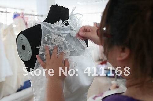 Strapless sheath mermaid flowers taffeta custom-made 2012 mother of the bride dress mother of the bride dresses