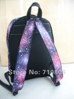 hand painted backpack/bags/women/men/Starry sky/The universe/Free Shipping