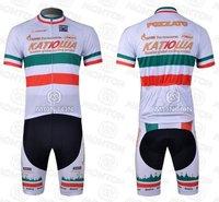Мужская одежда для велоспорта new 2011 Katusha summer cycling jersey and bib shorts Kit, bike jersey, short sleeve cycle wear