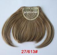 Волосы для наращивания prootion-hair fringe, fashion hair bang, beauty hair bang, can mix color, synthetic hair bang, color 1B#, 5 pcs/lot