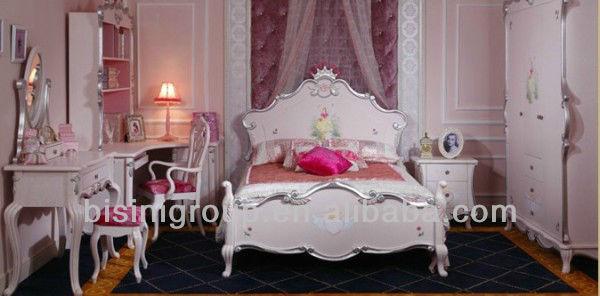 Venta caliente de la princesa encantadora niños camas set, Cute ...
