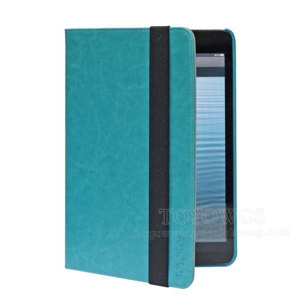 360 rotation new leather case for iPad mini 2