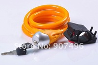 Best selling! Bicycle Bicycle general lock bike Round wire circlips bicycle cable lock.Bike lock 1 pcs