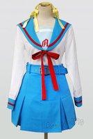 The Melancholy of Haruhi Suzumiya Cosplay Dress Costume For Halloween