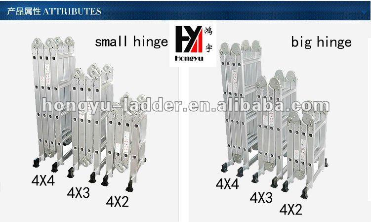 Escada Multifuncional 4x4 16 degraus
