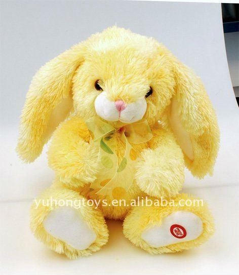 Singing Rabbit*Easter toy*Plush Singing Toy