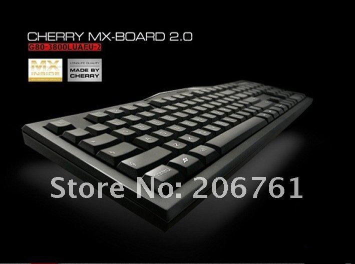 Genuine Original Authentic!!Cherry G80-3000 MX Switch 2.0 Red Mechanical Gaming Keyboard (w/ Black Body)