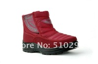 Warrior snow boots winter and spring boots plus velvet warm boots
