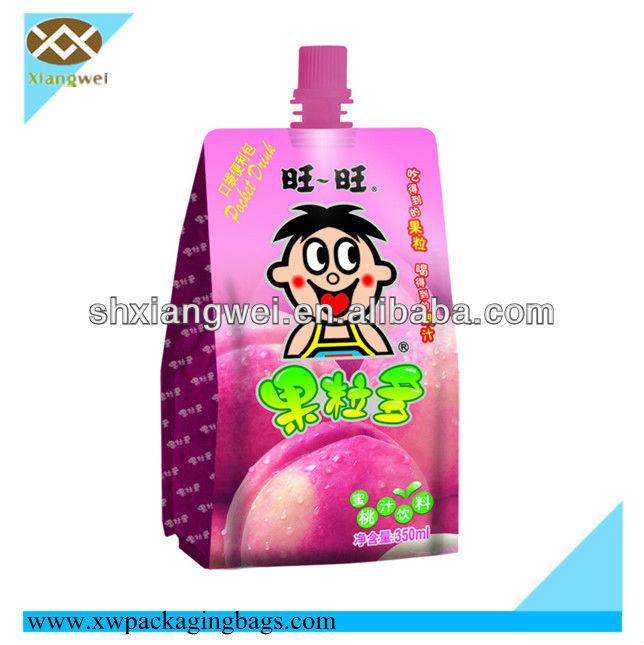 Multicolor Printed Flat Plastic Bag for Food packaging