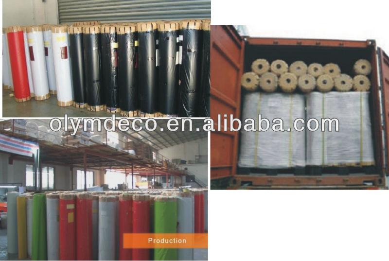Hot vide presse en bois pvc film de grain pour meubles en - Adhesif decoratif pour meuble ...