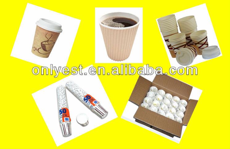 10oz usa e getta di carta tazza di caffè