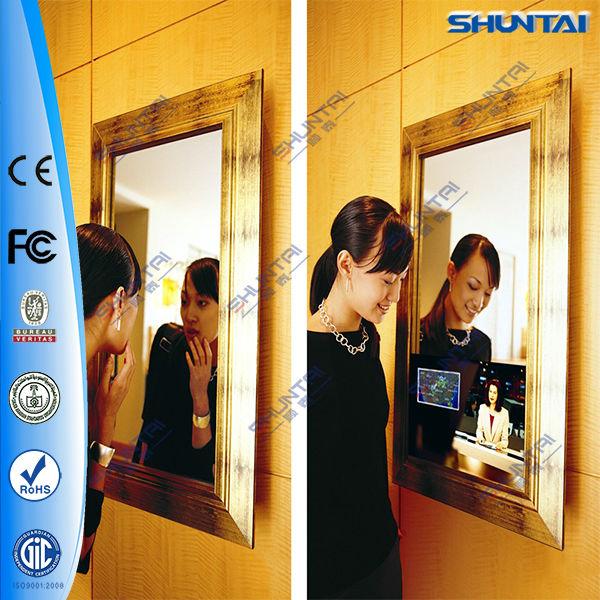 42 인치 스마트 디자인 요술 거울 tv 벽이 주도-광고 플레이어 ...