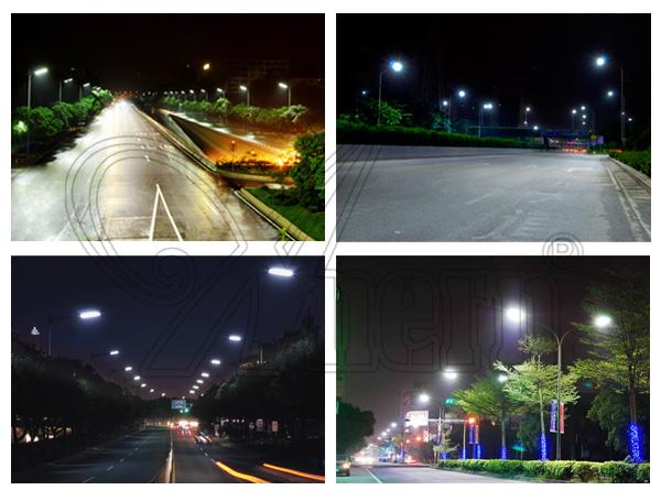 2016 высокая эффективность удара high power LED street light with CE RoHS