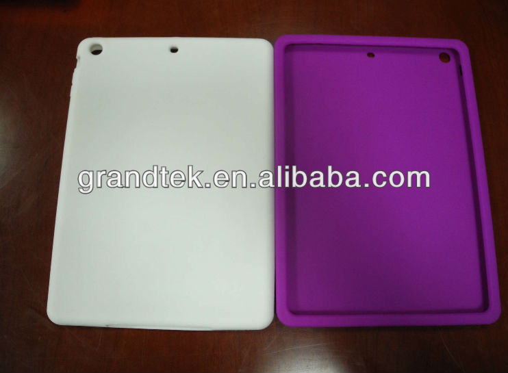 SGS certificate silicone cases for ipad5, for ipad accessories