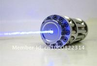 лазерная указка OX-BX1 waterproof 10000mW / 10W focusable burning Blue laser pointer + laser glasses