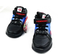 Child breathable antiskid sneakers black blue red shoes/boy and girl winter wear shoes