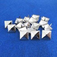 Клепки для одежды 12mm silver ! 1000 /12 /nailheads