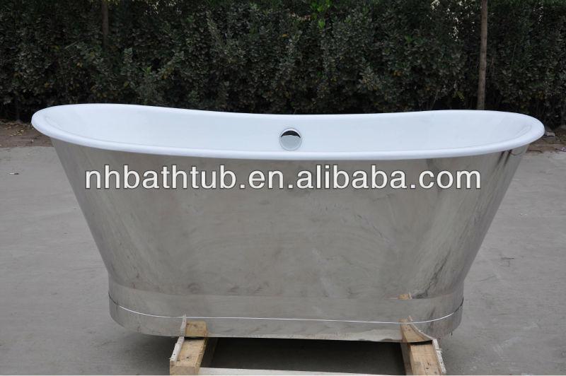 freestanding vasca da bagno con gonna lusso ammollo vasca da bagno economici cast vasca