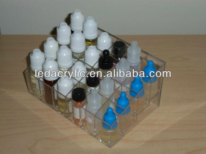 E-cigarette Juice Bottle Display Stand 5-tier Rack Organizer