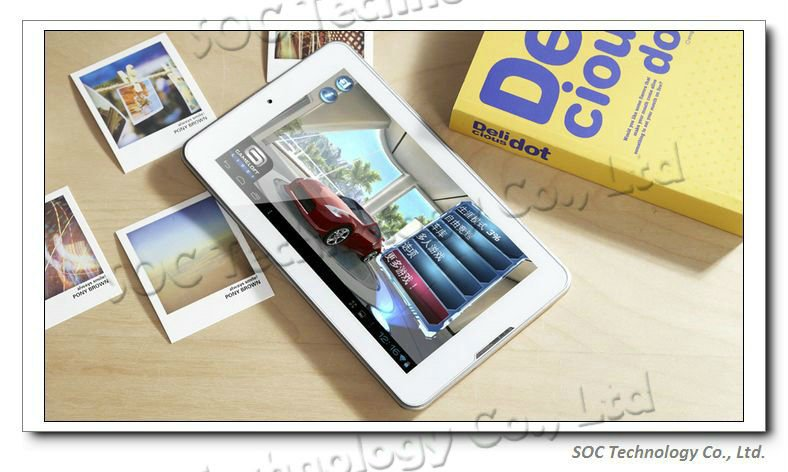 "7"" Jelly Bean Android 4.1 Tablet FNF ifive MINI Dual core With Bluetooth Dual cameras 2.0MP 1GB/8GB 3G IPS Screen Tablet PC"