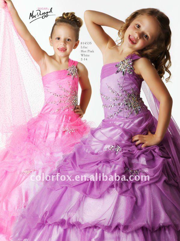 Moda Adolescentes y Niños Elegancia Estilo: Vestidos de Fiesta para ...