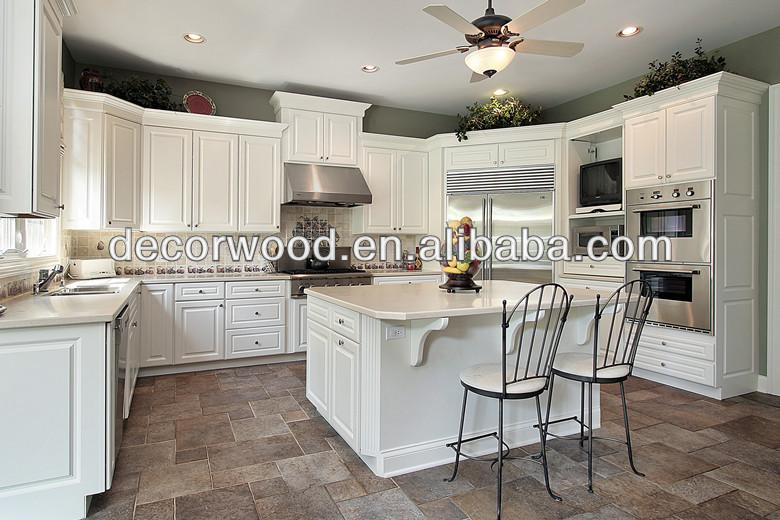 Mooie Witte Moderne Design Keuken Met Keukeneiland : Franse stijl luxe ...