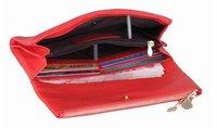 Вечерняя сумка NEW dumpling shape 100%Genuine leather evening bag, clutch/wristlet bag w/ strap, purse gift BB021